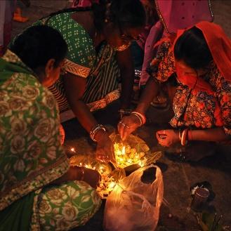 Preparativos para o Diwali, em Udaipur