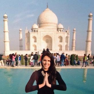 Dia de conhecer o Taj Mahal