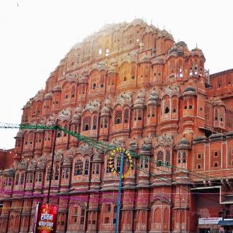 Hawa Mahal, o cartão postal de Jaipur