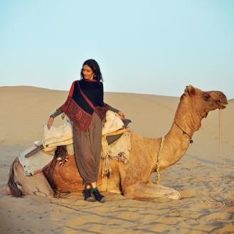 Novos amigos no deserto do Thar