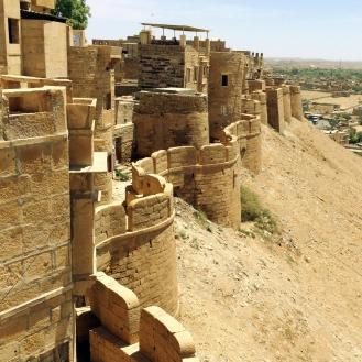 O forte dourado de Jaisalmer