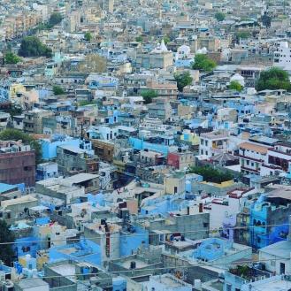 A Cidade Azul é auto explicativa