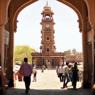 Clock Tower, o ponto de encontro mais famoso de Jodhpur