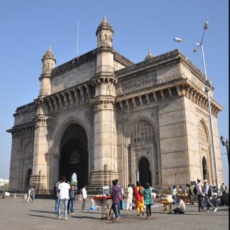 Gateway of India, herança britânica em Mumbai