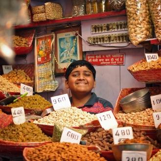 Simpatia e amêndoas, no Spice Bazar