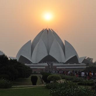 Lotus Temple, um espetáculo de arquitetura