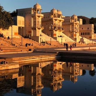 O lago sagrado de Brahma
