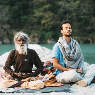 Samir Abud em Rishikesh