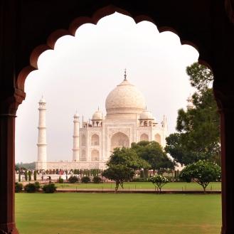Taj Mahal e sua beleza difícil de descrever