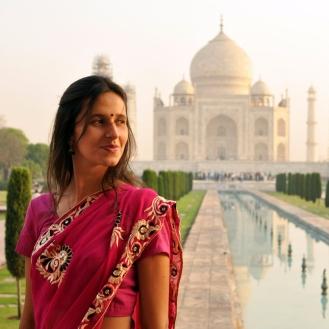 Melhor lugar para arrastar um sari na Índia