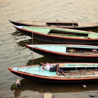 Siesta no Ganges