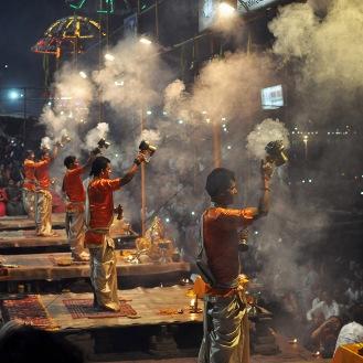 Cerimônia Ganga Aarti