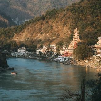 Ganges sob a Lakshman Jhula