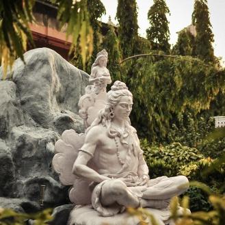 Shiva Meditando em Rishikesh